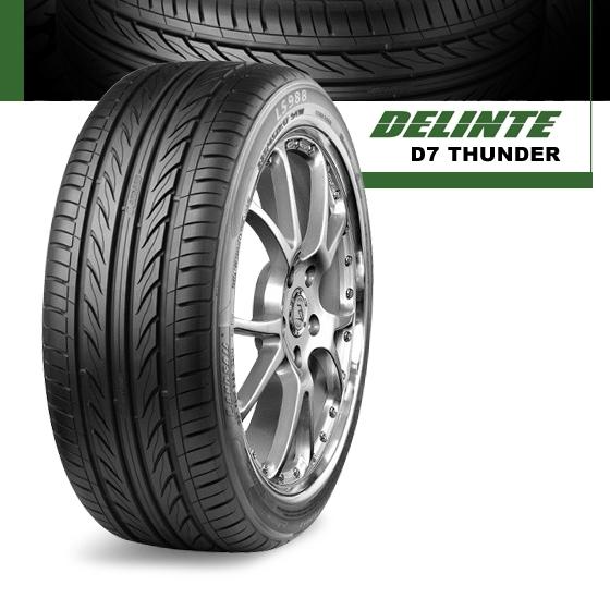 "215 60R16 Tires >> Delinte Thunder D7 Ultra High Performance Tires - 16"" - 22 ..."